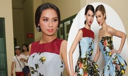 Huyền Ny đụng váy 70 triệu với sao Hollywood