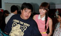 Bạn gái hotboy Huỳnh Anh, giản dị đi tặng quà trung thu