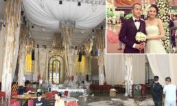 Hậu trường chuẩn bị lễ cưới 7 tỷ của Ngọc Thạch ở Hà Nội