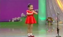 Em bé Triều Tiên hát khiến bạn thán phục