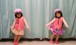Clip hai em bé sinh đôi nhảy cực kỳ dễ thương
