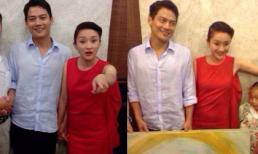 Lộ ảnh vợ chồng Châu Tấn ăn mặc nhầu nhĩ trong lễ báo hỷ ở quê