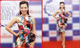 Á hậu quý bà Thu Hương nổi bần bật với váy in hoa