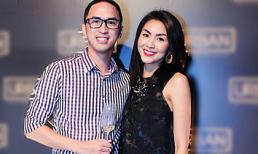Vợ chồng Tăng Thanh Hà rạng rỡ cùng dàn sao khai trương nhà hàng mới