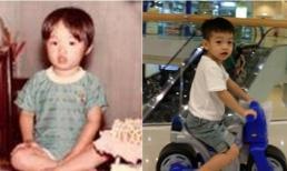 Những nhóc tỳ showbiz Việt giống hệt bố mẹ thời nhỏ