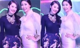 Quế Vân rạng ngời 'đọ dáng' cùng Hoa hậu Hà Kiều Anh