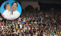 'Biển' fan phủ kín sân khấu xem liveshow đầu tiên của Ngọc Sơn
