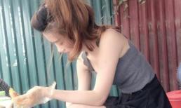 'Hot girl bánh tráng trộn' Hà Nội khiến dân mạng dậy sóng