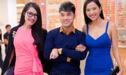 Quế Vân thân thiết với cặp đôi Ưng Hoàng Phúc - Kim Cương tại sự kiện