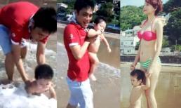 Clip con trai Dương Yến Ngọc đáng yêu bên bố
