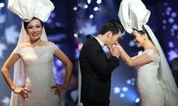 """Phương Thanh lần đầu làm vedette, được Nam Thành """"cầu hôn"""" trên sân khấu"""