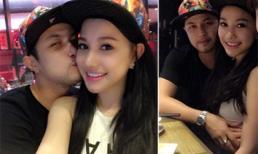 Anh trai Bảo Thy hôn thắm thiết bạn gái mới