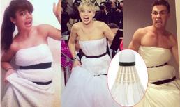 Jennifer Lawrence tại Quả cầu vàng bị chế ảnh hài hước