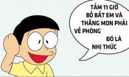 Siêu cười Đôrêmon chế: Định nghĩa Toán học của Nobita