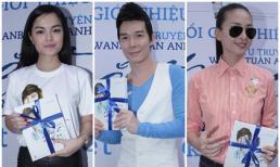 Dàn sao Việt tấp nập tới ủng hộ tự truyện của Wanbi Tuấn Anh