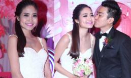 Đám cưới ngập tràn sắc hồng của Ninh Hoàng Ngân và chồng đại gia