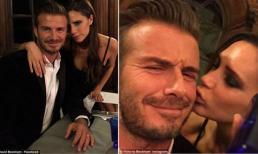 Victoria Beckham khoe ảnh hôn chồng đắm đuối