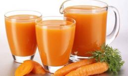 Cà rốt giúp ngăn ngừa ung thư và bệnh tim mạch hiệu quả