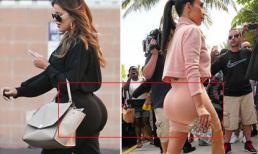 Em gái Kim Kardashian khoe vòng ba 'cạnh tranh' chị
