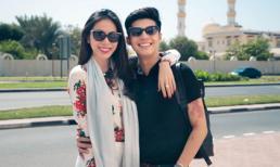Thủy Tiên khoe nhan sắc rạng rỡ bên 'trai đẹp' ở Dubai