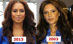 Thành viên Spice Girls làm bản sao lỗi thời của Victoria
