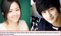 Moon Geun Young có thai với Kim Bum sau 7 tháng chia tay?