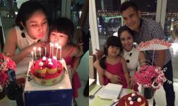 Bà xã Phan Thanh Bình tình cảm bên chồng ngày sinh nhật