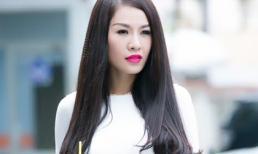 Quế Vân 'đẹp lạ' với style kín đáo, hiền dịu