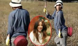 Lee Hyori giản dị đi làm đồng ở đảo Jeju