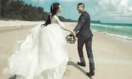 Hé lộ ảnh cưới tuyệt đẹp của  Quỳnh Nga và Doãn Tuấn