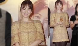 Song Hye Kyo mất điểm mặc váy cứng đờ như bao tải
