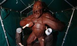 Chú King Kong khổng lồ cao 4m làm từ... chocolate