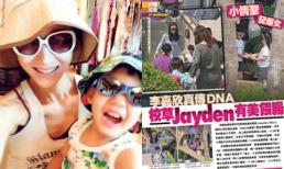 Con trai HH Lý Gia Hân mới ba tuổi đã biết 6 ngoại ngữ