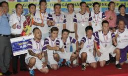 Ngôi Sao FC đoạt Á quân giải bóng đá 'Cúp Hồ Gươm 2014'