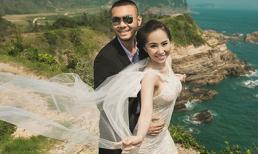 Trọn bộ ảnh cưới đẹp lung linh của 'Cá sấu chúa' Quỳnh Nga
