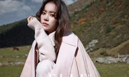 Han Ji Min đượm buồn trên tạp chí Elle
