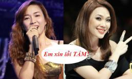 Đinh Hương lên tiếng xin lỗi vì gọi Mỹ Tâm là 'bà'
