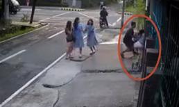 Đè cô gái xuống đường để cướp