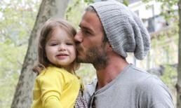 Những khoảnh khắc làm bố ngọt lịm tim của David Beckham