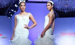 Vương Thu Phương làm cô dâu đẹp gợi cảm trên sàn catwalk