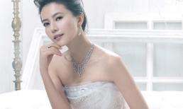 Ngắm Cao Viên Viên xinh đẹp với váy cưới