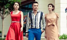 Diễm Châu, Huỳnh Nu khoe vẻ đẹp cá tính trên phố