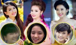Quá trình 'lột xác' ngoạn mục của Top 3 'Hoa hậu Việt Nam 2014'