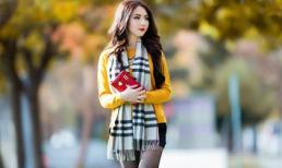 HH châu Á tại Mỹ - Jennifer Chung đẹp thơ mộng giữa trời thu