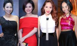 Mỹ nhân Việt khoe sắc trên thảm đỏ POPS Awards 2014