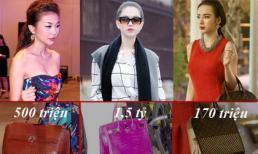 Những chiếc túi xách có giá 'khủng' của sao Việt