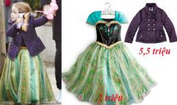 Harper mặc váy công chúa siêu dễ thương đi sinh nhật bạn