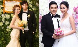 Sao Việt rộn ràng đám cưới dịp cuối năm