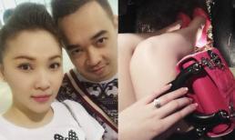 Quỳnh Thư khoe khéo nhẫn đính hôn?