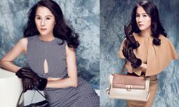 Mê mẩn với gout thời trang đẳng cấp của siêu mẫu Thái Hà